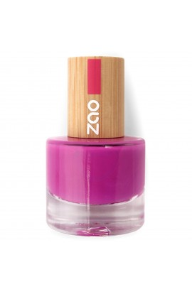 ZAO, NAIL POLISH 661 FUCHSIA, 8 ML