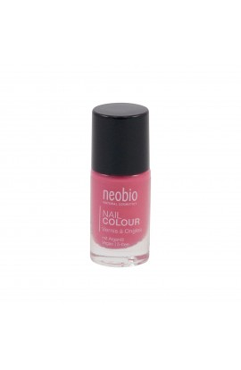 NEOBIO, NAIL POLISH 04 LOVELY HIBISCUS, 8 ML