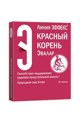 Evalar Effect Red root 60 tablets