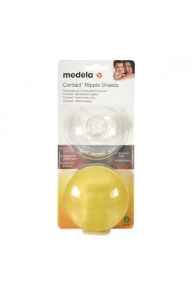 MEDELA contact nylon caps size L 1pár