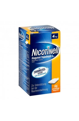 Nicotinell 4mg tropical fruit (96 pcs)