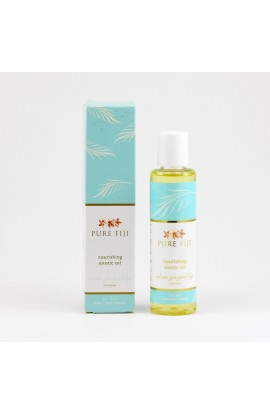 PURE FIJI, EXOTIC MASSAGE AND BATH OIL, GINGER, 90 ML