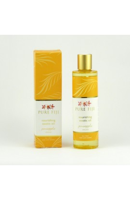 PURE FIJI, EXOTIC MASSAGE AND BATH OIL, PINEAPPLE, 236 ML