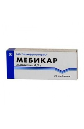 Tathimpharm preparations Mebicard 500mg 20 tablets