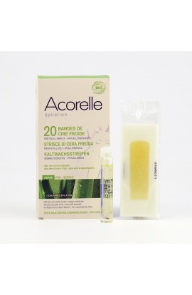 ACORELLE, DEPILATORY STRIPS FOR FACE 20, PCS