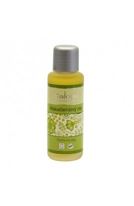 SALOOS, MACADAMIA NUT OIL, BIO, 50 ML