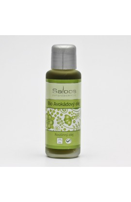 SALOOS, AVOCADO OIL, BIO, 50 ML