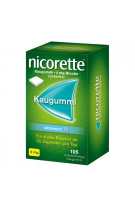 Nicorette 4 mg whitemint (105 pcs)