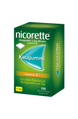 Nicorette 4mg freshfruit (105 pcs)