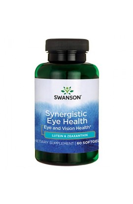 Swanson For eye health lutein and zeaxanthin, 60 gel capsules