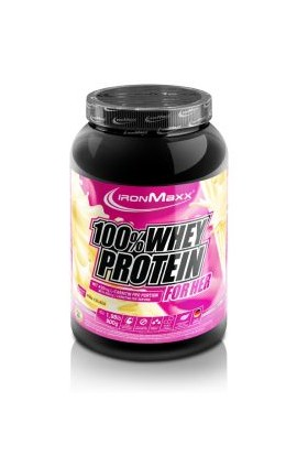 IronMaxx 100% SERUM PROTEIN FOR HER (900 g). Raspberry White Chocolate
