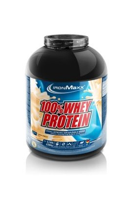 IronMaxx 100% SERUM PROTEIN 2350 G. White chocolate strawberry
