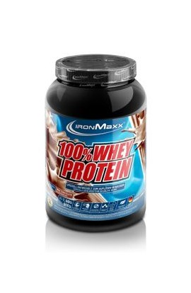 IronMaxx 100% SERUM PROTEIN 900G. White chocolate strawberry