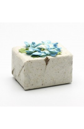 PURE FIJI, COCONUT SOAP IN HANDMADE PAPER, GINGER, 50 G