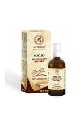 Aromatics Massage oil for sports massage 100 ml