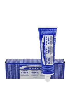 DR. BRONNER'S, TOOTHPASTE, PEPPERMINT, 140 ML