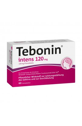 Dr.Willmar Schwabe, Tebonin intens 120mg , (60 tab)