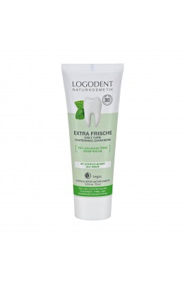 LOGONA, TOOTHPASTE WITHOUT FLUORIDE EXTRA FRESH, LOGODENT, 75 ML