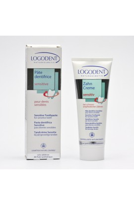 LOGONA, TOOTHPASTE SENSITIVE FOR SENSITIVE TEETH, LOGODENT, 75 ML