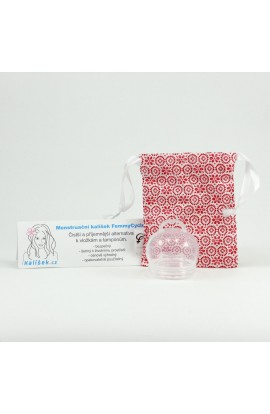 FEMMYCYCLE, MENSTRUAL CUP FOR LOW CERVIX, 1 PC