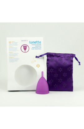 LUNETTE, MENSTRUAL CUP MODEL 2 (LARGER), CYNTHIA, 1 PC