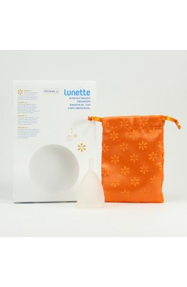 LUNETTE, MENSTRUAL CUP MODEL 2 (LARGER), CLEAR, 1 PC