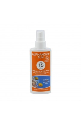 ALPHANOVA, SUNSCREEN SPRAY SPF 15, 125 G