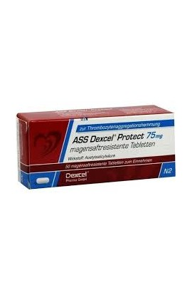 Dexcel,ASS Dexcel Protect 75mg, (50 tab)
