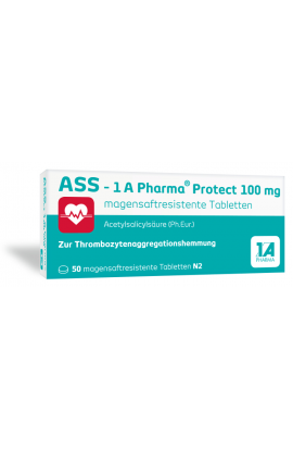 1A Pharma, ASS 100 - Protect, (100 tab)