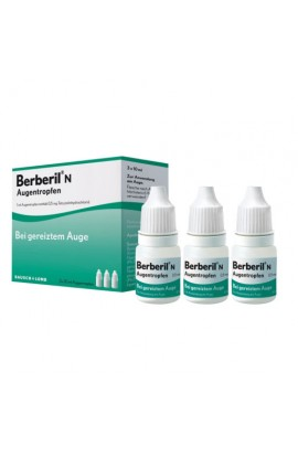 Dr. Mann Pharma, Berberil N 3×10 ml