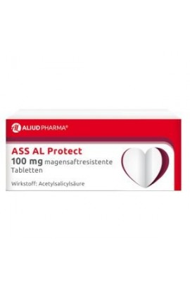 Aliud Pharma, ASS AL Protect 100mg magensaftresistente Tabletten, (50 tab)