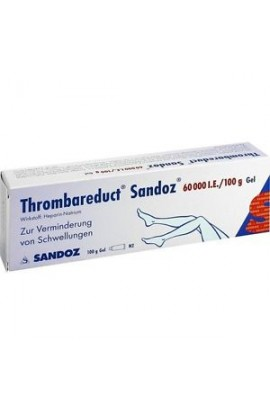HEXAL, Thrombareduct Sandoz 60 000 I.E. Gel, 100 g