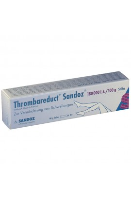 HEXAL,Thrombareduct Sandoz 180 000 I.E. Salbe, 40 g