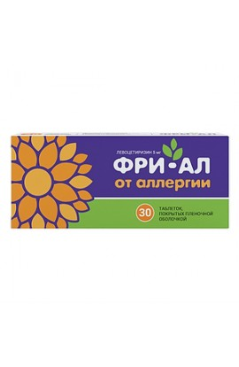 Valenta Pharma Free-Al tablets coated.plen.ob. 5 mg, 30 pcs.