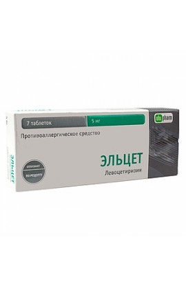 Obolenskoe FP Eltset tablets are coated.plen.ob. 5 mg, 7 pcs.
