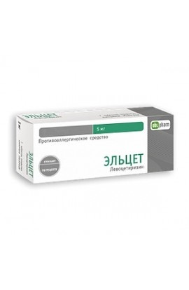 Obolenskoe FP Eltset tablets are coated.plen.ob. 5 mg, 14 pcs.