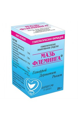 Homeopathic Pharmacy Fleming ointment, 25 g