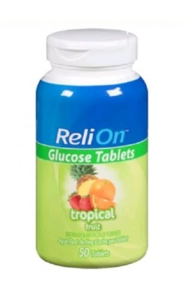ReliOn, Tropical Glucose Tablets, 50 tab