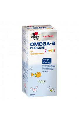 Double Heart Omega-3 family liquid system (250 ml)