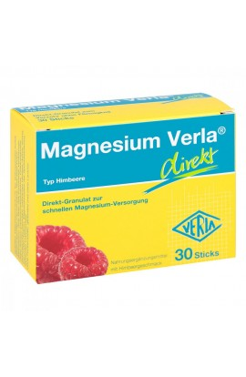 Magnesium Verla directly granulated raspberry (30 pcs)