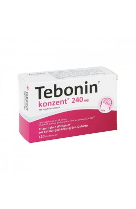 Tebonin concentrated 240mg (120 pieces)