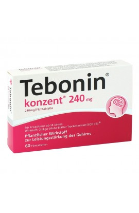 Tebonin concentrated 240mg (60 pcs)