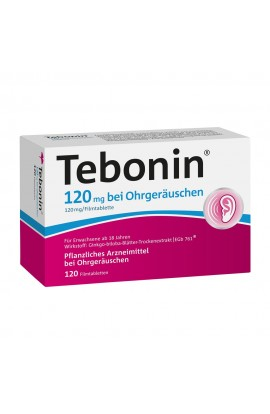 Tebonin 120mg with ear noise (120 pcs)