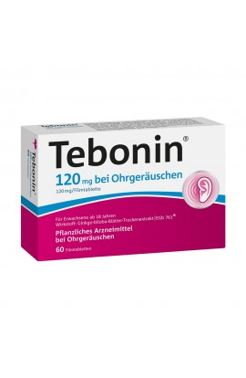 Tebonin 120mg with ear noise (60 pcs)