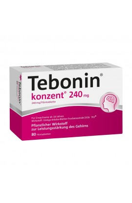 Tebonin concentrated 240mg (80 pcs)