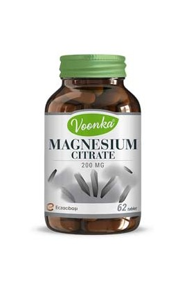 Voonka, Magnesium Citrate 62 tablets