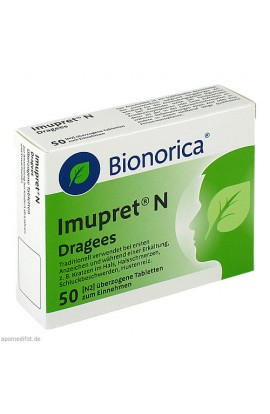 Bionorica, Imupret N Dragees, 50 stk