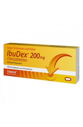 Dexcel, IbuDex 200mg, 10 stk