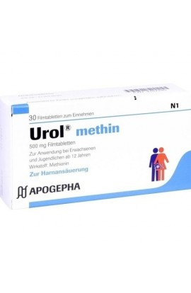 Apogepha, Urol methin, 30 tab