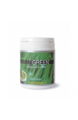 Young green mixture (food supplement) 80 g Blue step